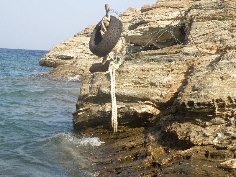 urban travel tales rock in Kea, Greece, 'L'amour fou' Andre Breton, surrealism