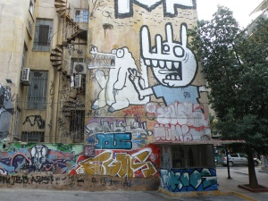 urbantraveltales, Exarcheia Athens Greece street art