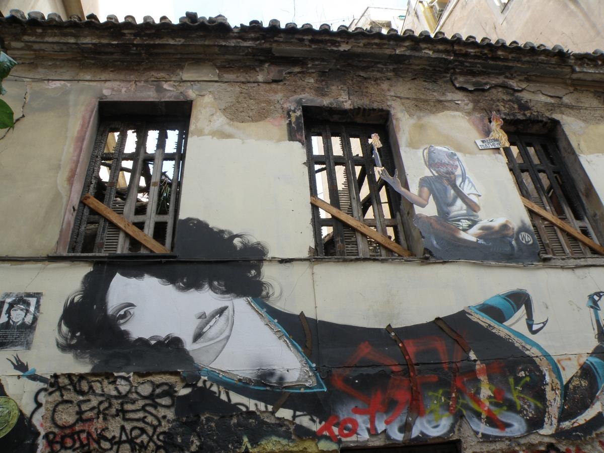 urban travel tales, Exarcheia Athens Greece street art