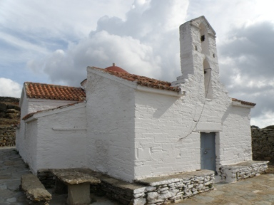 urban travel tales, photography Greece Cyclades Kea Byzantine church