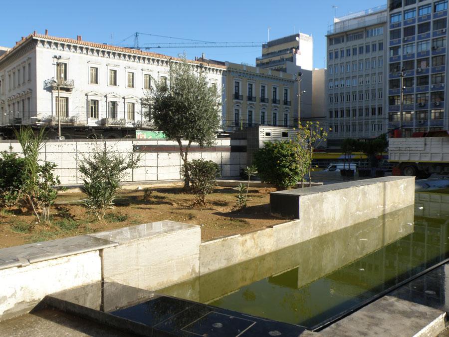 urban travel tales, Omonoia Square, Athens Greece