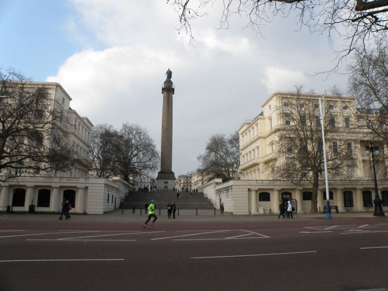 urban travel tales, Secret London, Trafalgar Square