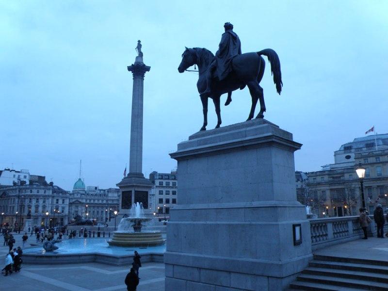 urban travel tales, Secret London,Trafalgar Square, Fourth Plinth
