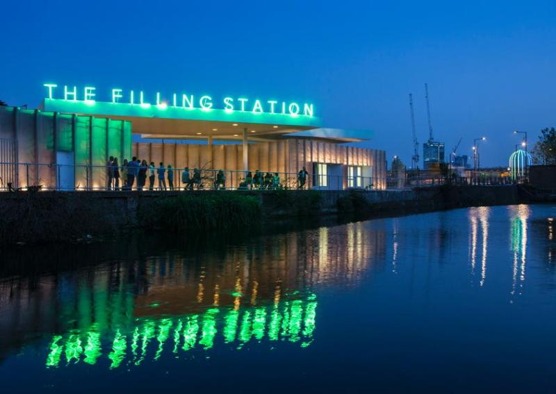urban travel tales, Secret London, King's Cross The Filling Station
