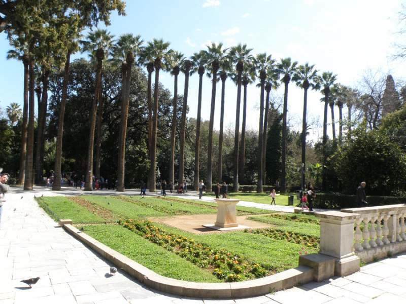urban travel tales, Athens National Garden