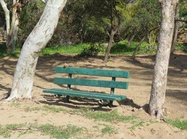 urban travel tales, Tzia, Kea, benches