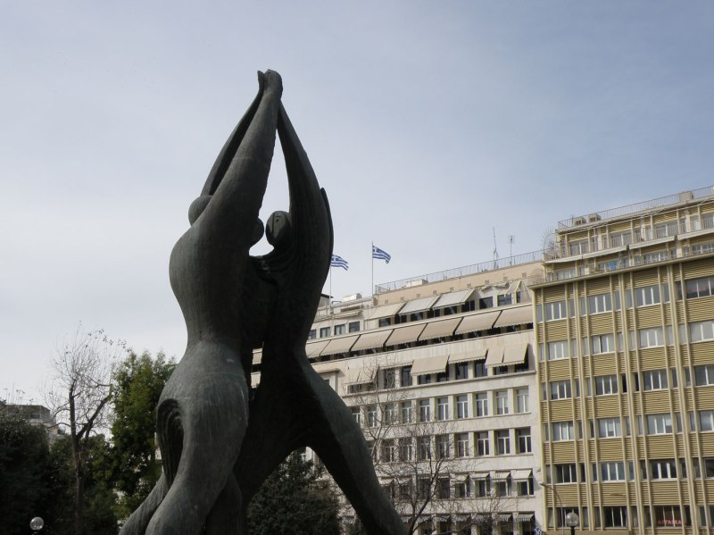 urban travel tales, Athens, city center 2013