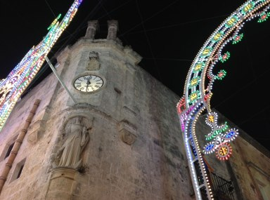 urban travel tales, Puglia, Apulia, Fiesta di Santa Vittoria, Spongano