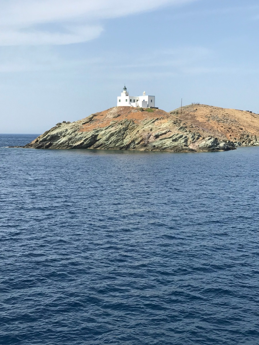 Lighthouse, Kea, Tzia, urban travel tales