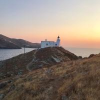 To the Lighthouse of Saint Nicolas/ Προς το Φάρο του Άη Νικόλα