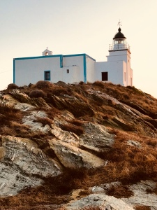 The Lighthouse, Kea, Tzia, urban travel tales