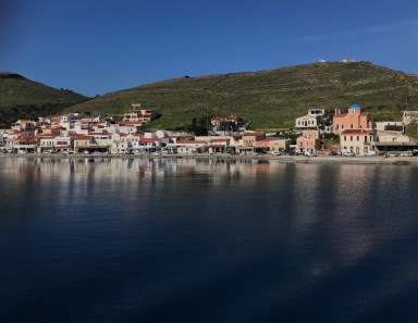 Kea island, urban travel tales , the port, Korissia